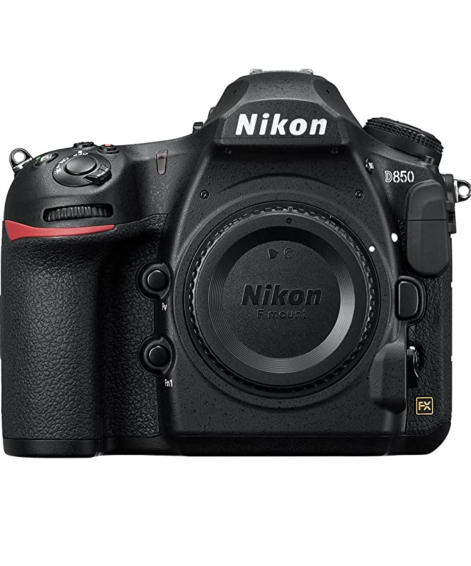 Nikon D850 FX-Format Digital SLR Camera Body. Best Camera For Professional Photography