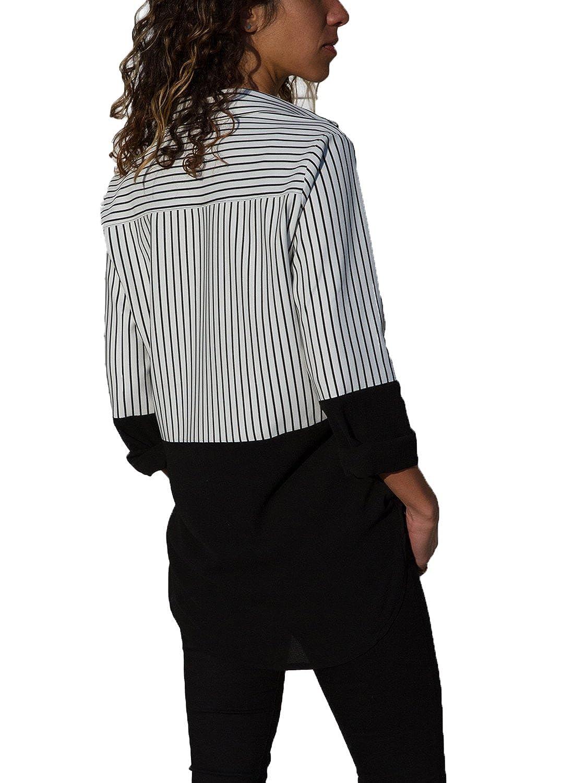 Amazon.com: Vetinee - Camisas de cuello en V para mujer ...