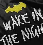 Wake in The Night Funny Bat Cute Nerd Comic Romper