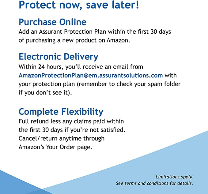 Assurant 3-Year Major Appliance Protection Plan $350-$399.99