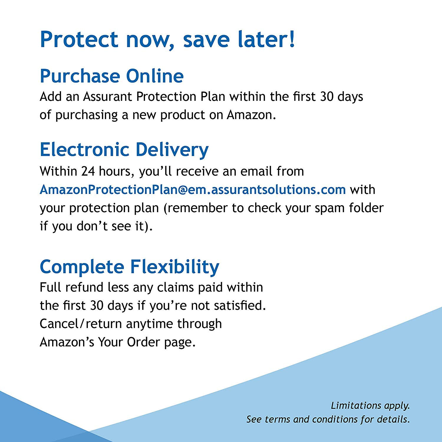 $300-$349.99 Assurant 4-Year Appliance Protection Plan