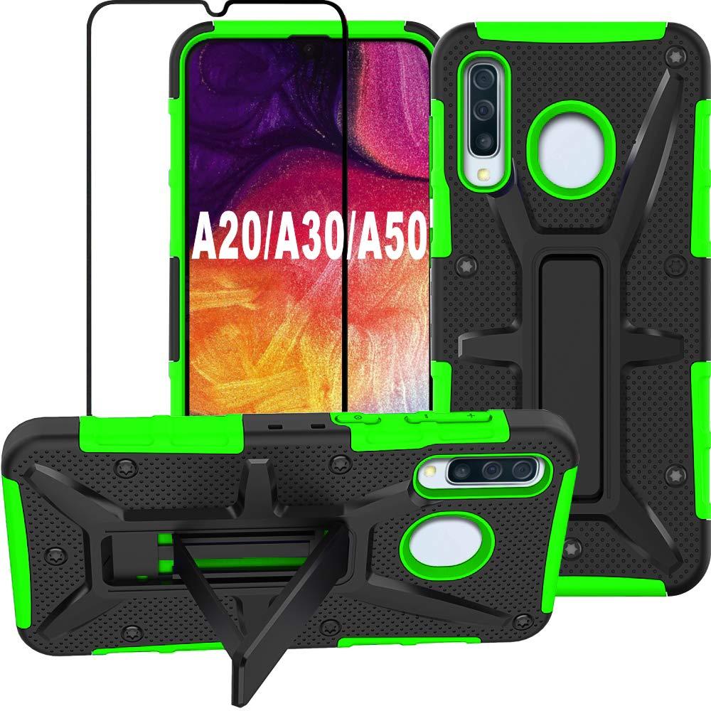Funda + Vidrio Para Samsung Galaxy A20 / A30 / A50 Con Pie Hnhygete [7wlsqt8k]