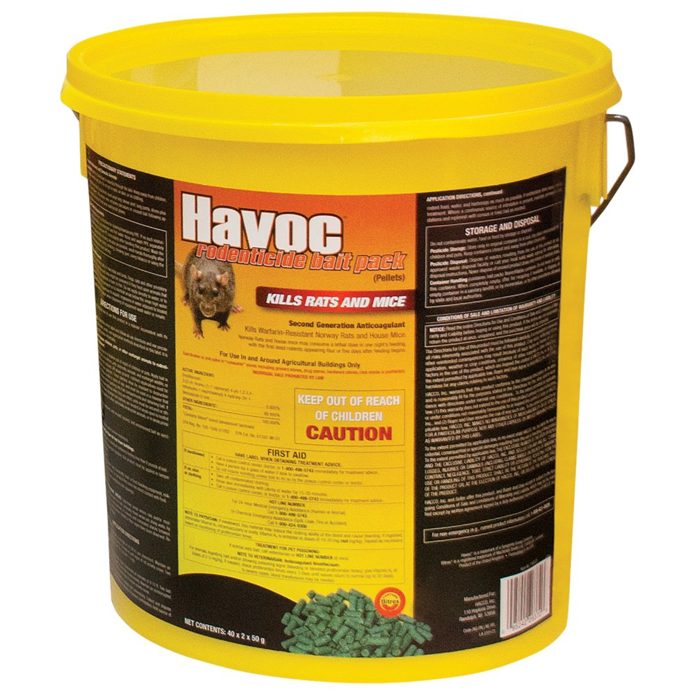 Best Rat Poison - Havoc Rat & Mouse Bait