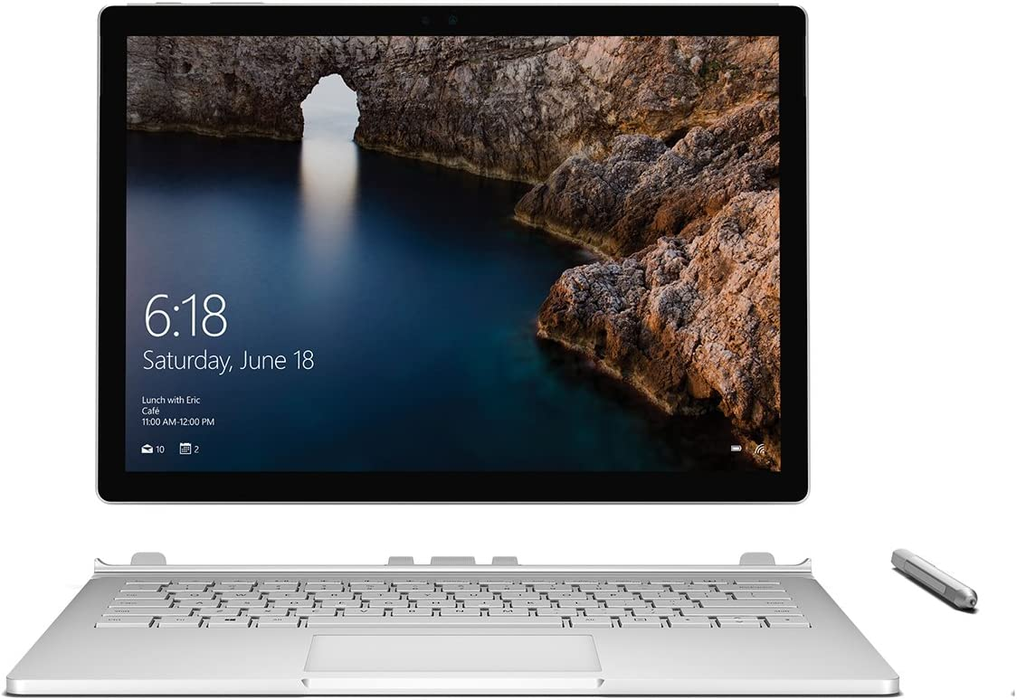 Microsoft Surface Book (Intel Core i5, 8GB RAM, 128GB) with Windows 10 Anniversary Update