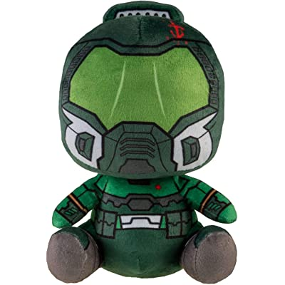 Doom Eternal Limited Edition Doomguy Stubbins Green Plush Stuffed Toy: Toys & Games
