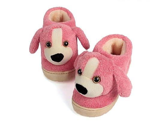 Pantofole lanterne per bambini cartone animato per cani pantofole
