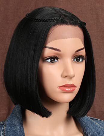 Style Icon Lace Front Wigs Short Bob Wig