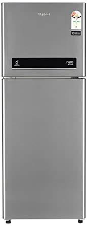 Whirlpool 245 L 2 Star Frost Free Double Door Refrigerator(NEO DF258 ROY ILLUSIA STEEL(2S), Illusia Steel)