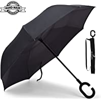 BCELIFE Double Layer Anti-uv Self-Standing Golf Umbrella