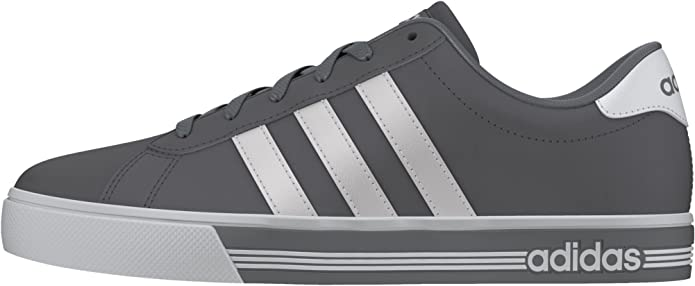 adidas Daily Team - Trainers for Men, 40 2/3, Grey: Amazon.co.uk ...