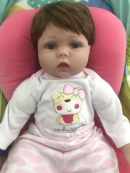 Kaydora Reborn Baby Doll Girl 22 Inch Lifelike Real Baby Doll Reborn, Named Lucy Amazing doll! So beautiful!