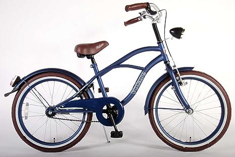 Bicicleta Niño 20 Pulgadas Blue Cruiser Blu: Amazon.es: Deportes y aire libre