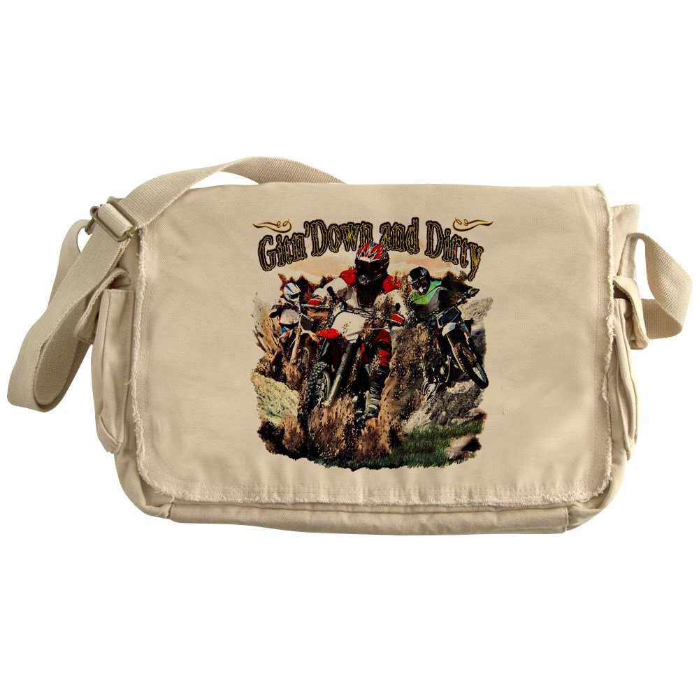 Royal Lion Khaki Messenger Bag Gitn Down and Dirty Dirt Bikes