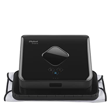 iRobot Braava 380t Advanced Robot Mop- Wet Mopping and Dry Sweeping Cleaning Modes, Large Spaces