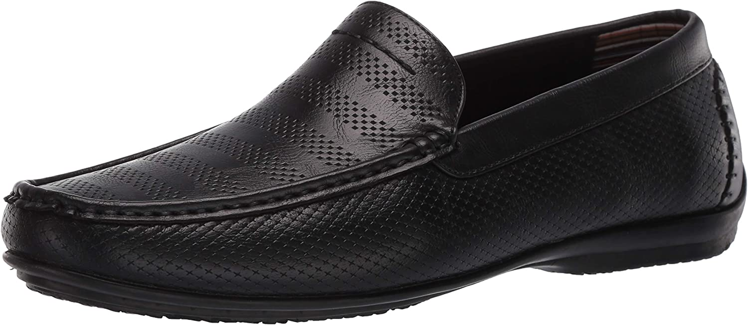 STACY ADAMS Men's Cirrus Moc Slip-on Loafer Style Cheap mail order sales Japan Maker New Driving Toe