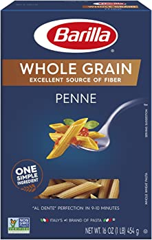 Barilla 8-Pack of 16 Ounce Penne Whole Grain Pasta