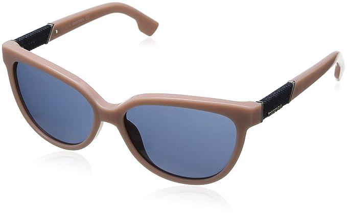 Diesel Damen Dl0102 Sonnenbrille, Rosa, Gr. 58 mm