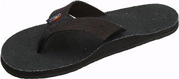 e66837295bfc Rainbow Sandals Men s Hemp Single Layer Wide Strap with Arch