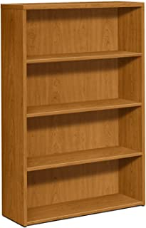 product image for HON 105534CC 10500 Series Laminate Bookcase with Four-Shelf, 36 by 13.12 by 57.12-Inch, Harvest