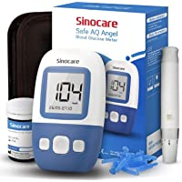 sinocare Medidor de glucosa en sangre kit/Control de la diabetes kit con codefree…