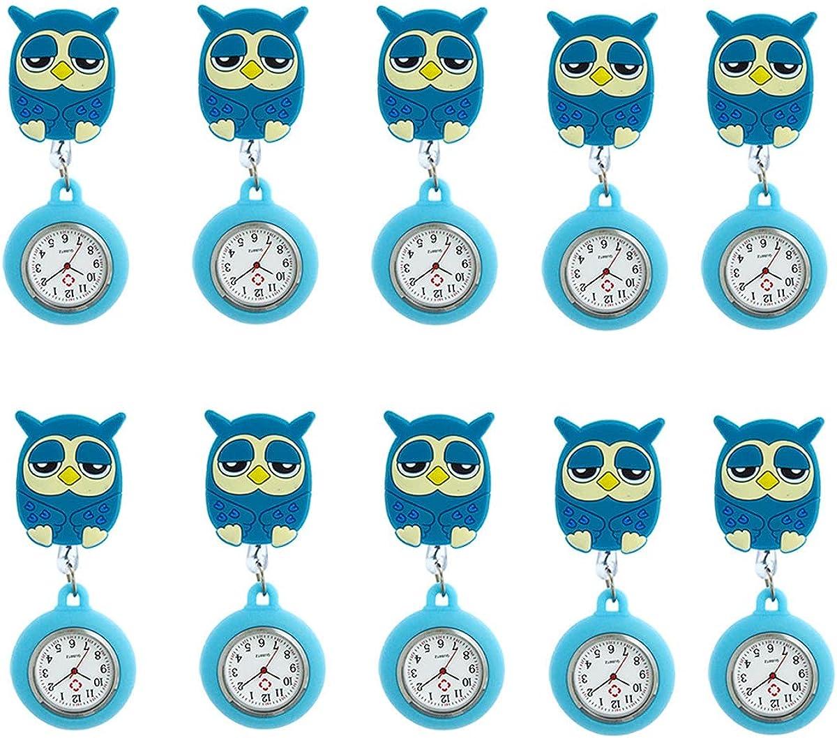 AllRing Juego de 10 relojes de enfermera elásticos
