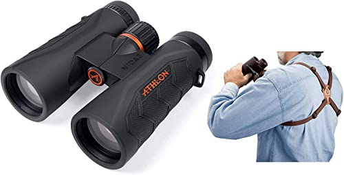 Athlon Optics Midas G2 UHD Binocular – 8×42 w Harness Strap