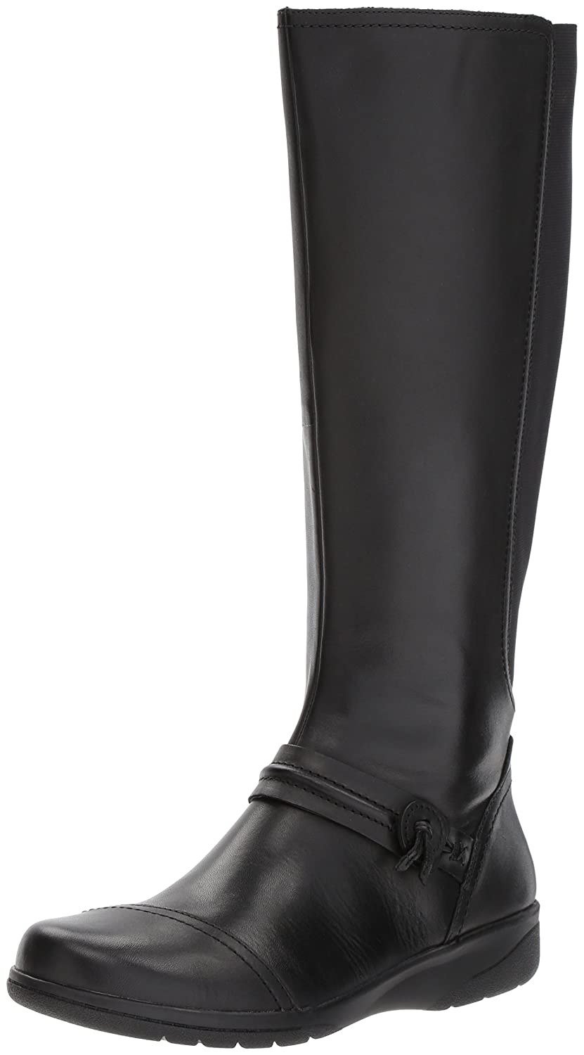 CLARKS Women's Cheyn Whisk Riding Boot B01MR31C98 6.5 W US|Black