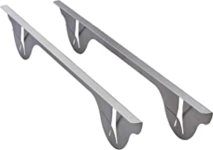 Stainless Steel - Stove to Counter Gap Cover (long), WILL NOT MELT & BURN LIKE SILICONE CAN, trim fills crack between oven and counter, guard filler for cut food or splatter spill