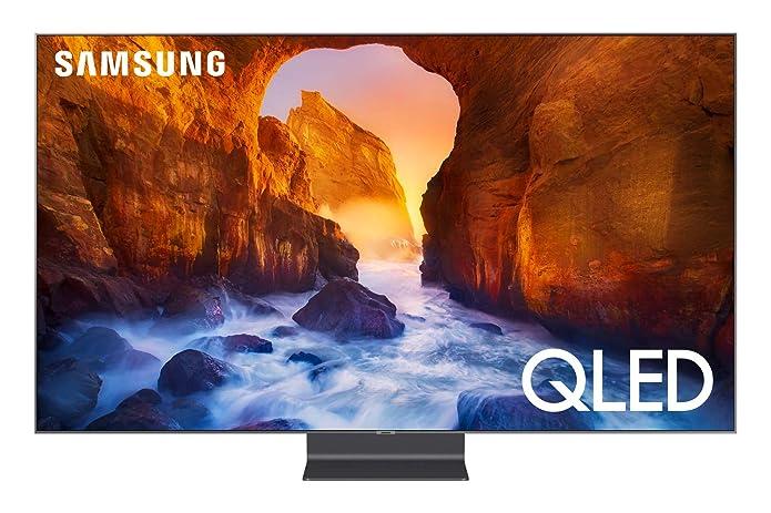 SAMSUNG 75u0022 Class 4K Ultra HD (2160P) HDR Smart QLED TV QN75Q90R (2019 Model)