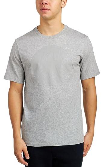 e7d6d8a1760376 Converse Chuck Taylor All Star Short Sleeve Mens T-Shirt (Grey ...