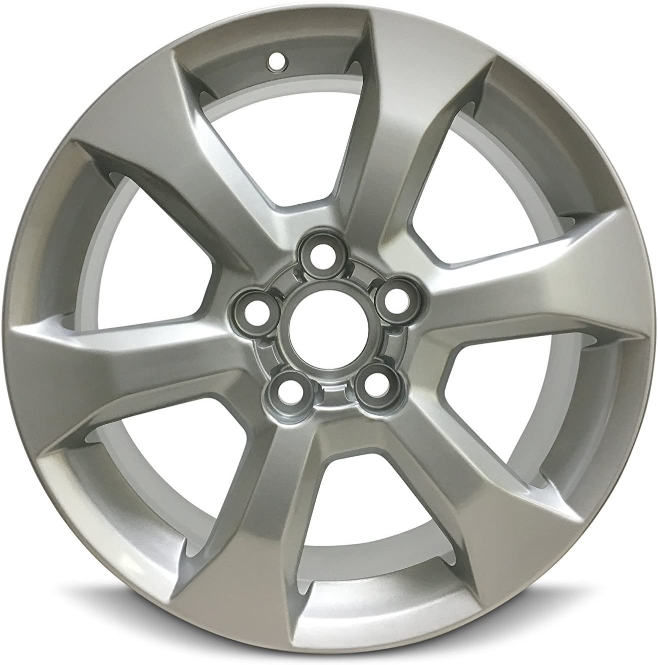 Exact OEM Replacement Full-Size Spare Road Ready Car Wheel For 2006-2012 Toyota Rav4 17 Inch 5 Lug Gray Steel Rim Fits R17 Tire