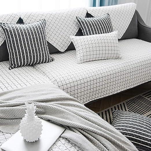 AINY Multi-Size Funda de sofá algodón Todas Las Temporadas ...