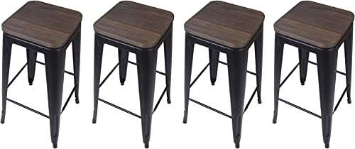 GIA 30-Inch Backless Bar Height Stool