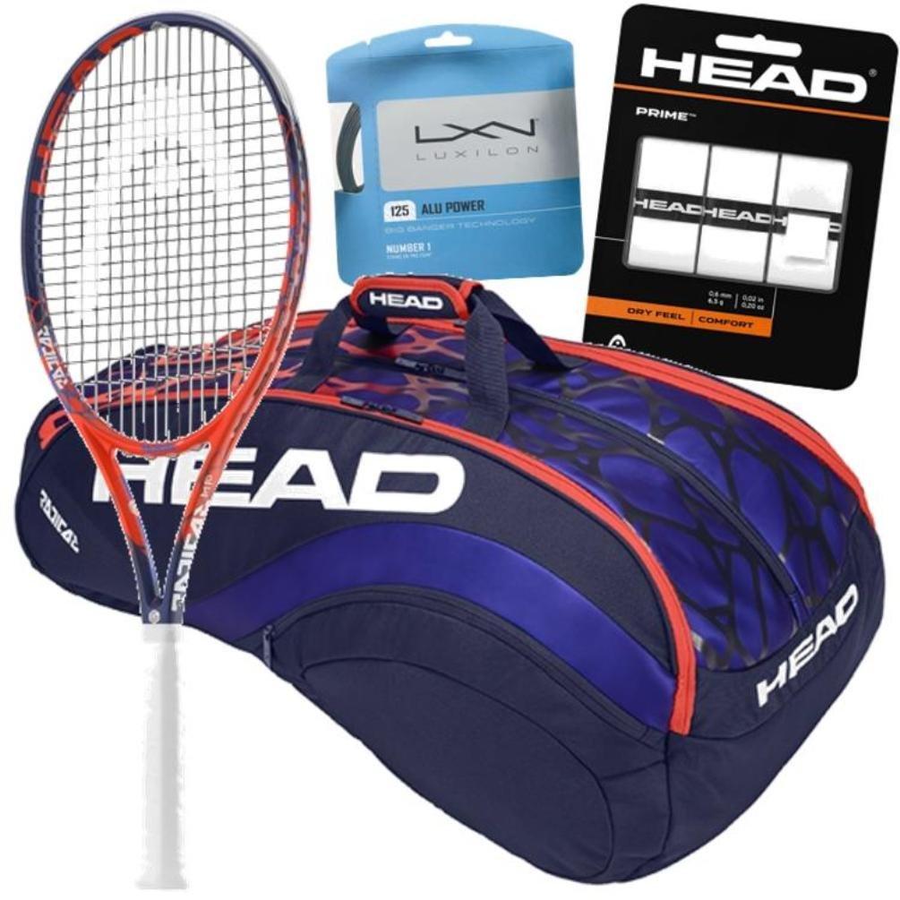 Sloane Stephens Pro Player Head GrapheneタッチRadical MP Tennis Racquet and Gearバンドルパック B0781947VT 4 5/8-inch