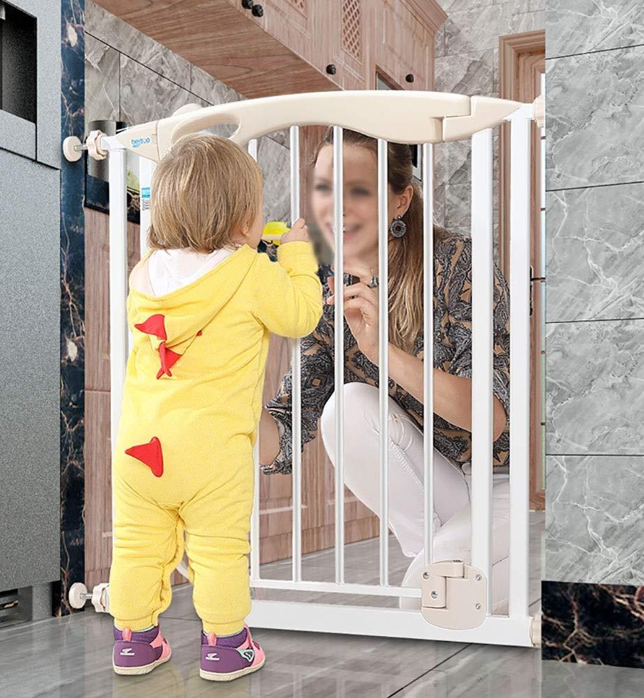 ベビーゲート 階段の廊下の台所のための余分広い赤ん坊のゲート、自動閉鎖の通り抜け通路のドアが付いている圧力台紙のドッグゲート、幅77-182cm (サイズ さいず : 154-161cm) 154-161cm  B07QRY3LB8