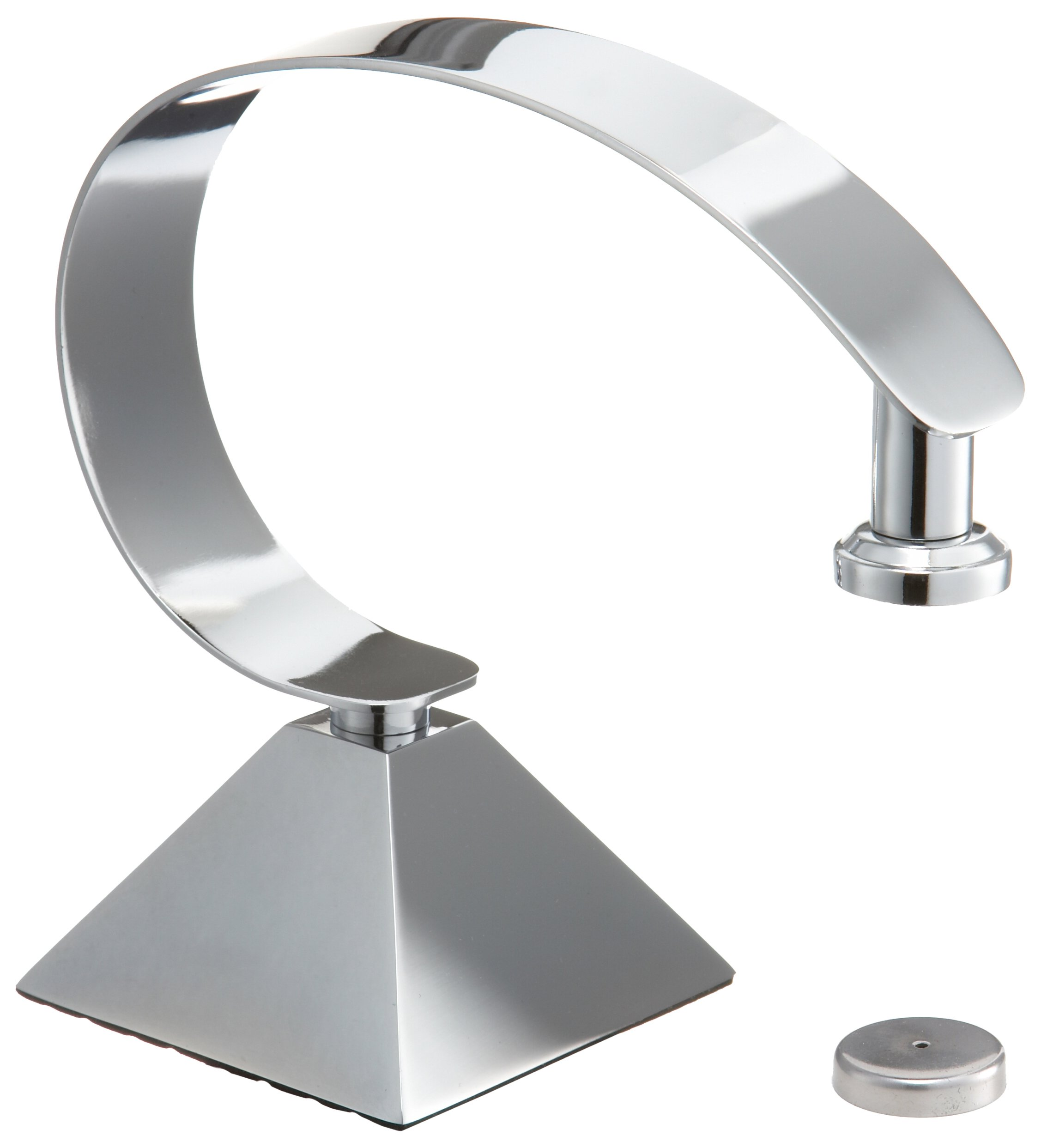 Taymor 02-D2236 Deluxe Countertop Magnetic Soap Holder,Chrome
