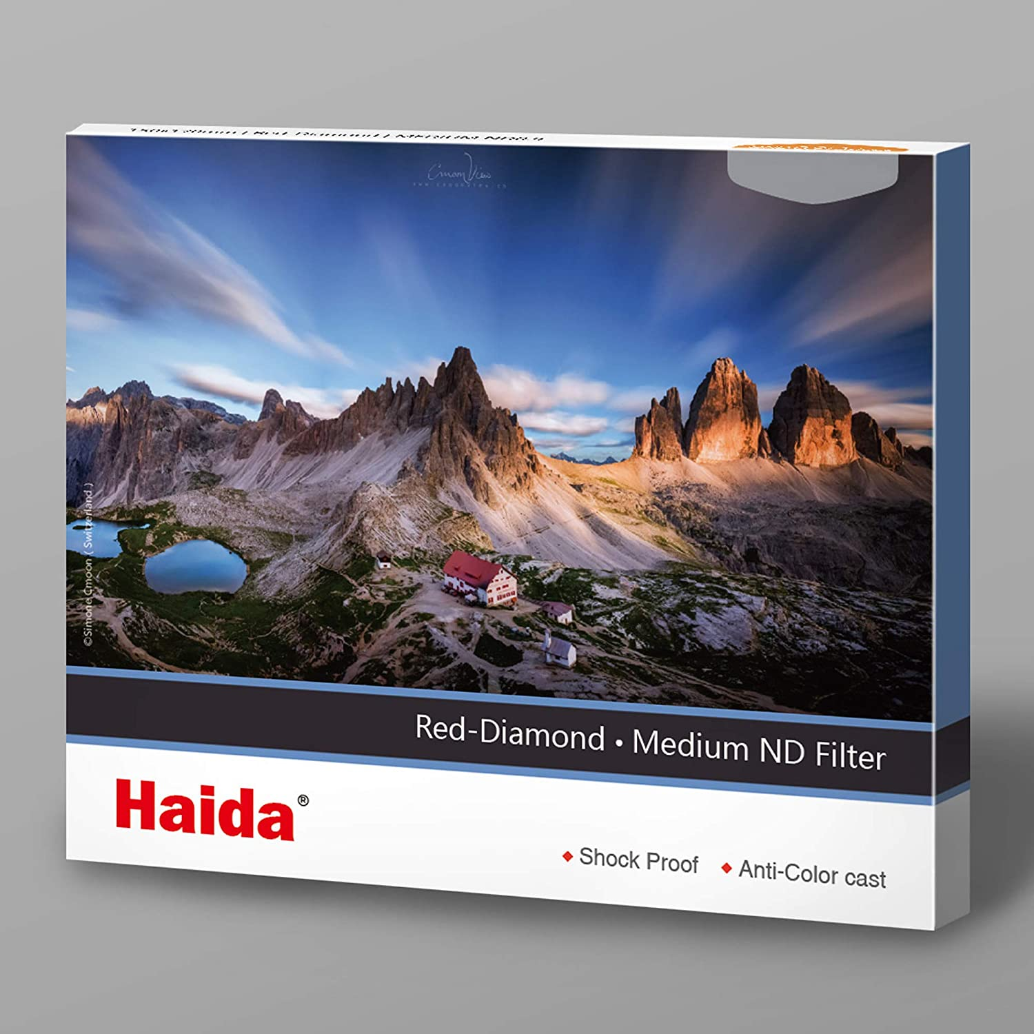 Haida Red Diamond Shockproof 150mm Soft Grad ND1.5 Filter ND GND 150 x 170mm Double Strength Optical Glass MC 5 Stop ND32 HD4384