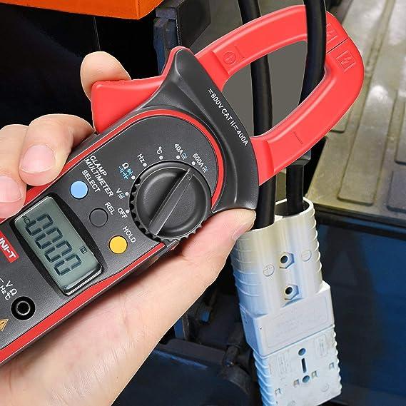 Uni T Ut203 Digitaler Hand Zangenmultimeter Multimeter Voltmeter Stromkreisprüfer Gleichstrom Wechselstrom Baumarkt