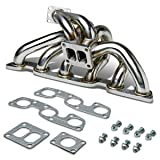 For Nissan Skyline GTR Stainless Steel T4 Turbo Manifold - R32 R33 R34 RB26DET
