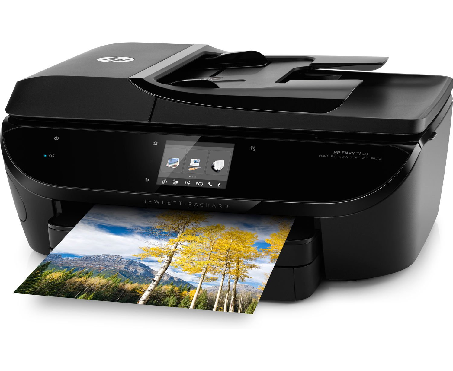 HP ENVY 7644 e-All-in-One Photo Quality Inkjet Printer, wireless printing, mobile phone compatible, in black (Renewed) by HP (Image #4)