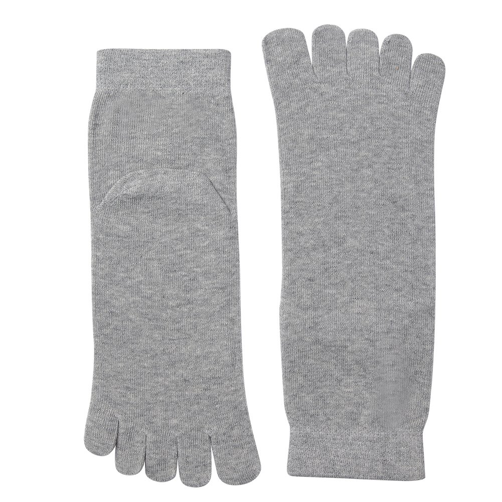Vwell Toe socks Cotton Running Five Finger Socks For Men Women Sport Socks 4 Pairs,Size 7-11