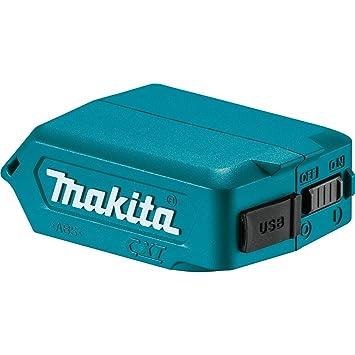 18,0V Li-Ion Makita Akku USB Ladeadapter DEBADP05 Adatper 2 x Anschluss 14,4V