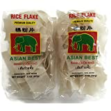 Rice Flake Noodles Asian Best, 8 oz. Packages (Set of 2)