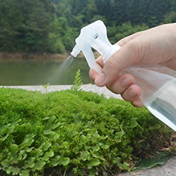 JZF - Botella de spray vacía de 200 ml para plantas de jardín, portátil, manual, gatillo de manos, pulverizadores de agua, botella de spray de plástico para ...