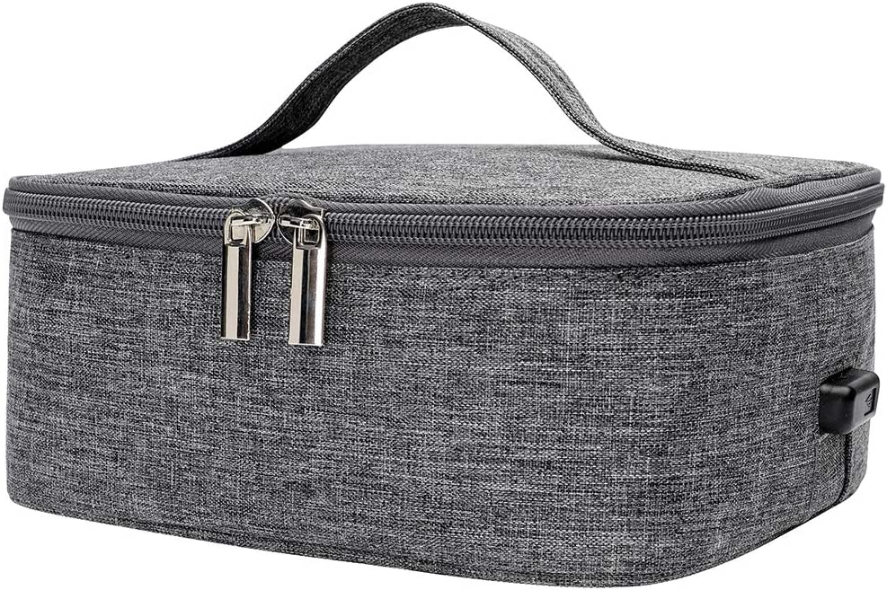 Portable Food Warmer and Heater Lunch Bag USB Plug Waterproof Oxford Cloth Lunch Warming Tote for Office Travel
