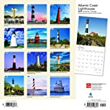 Atlantic Coast Lighthouses 2019 12 x 12 Inch