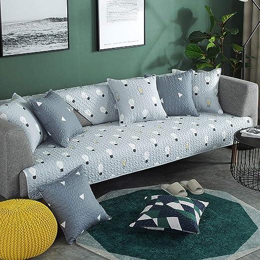 ABUKJM Fundas Sofa,Funda de sofá de algodón Cuatro ...