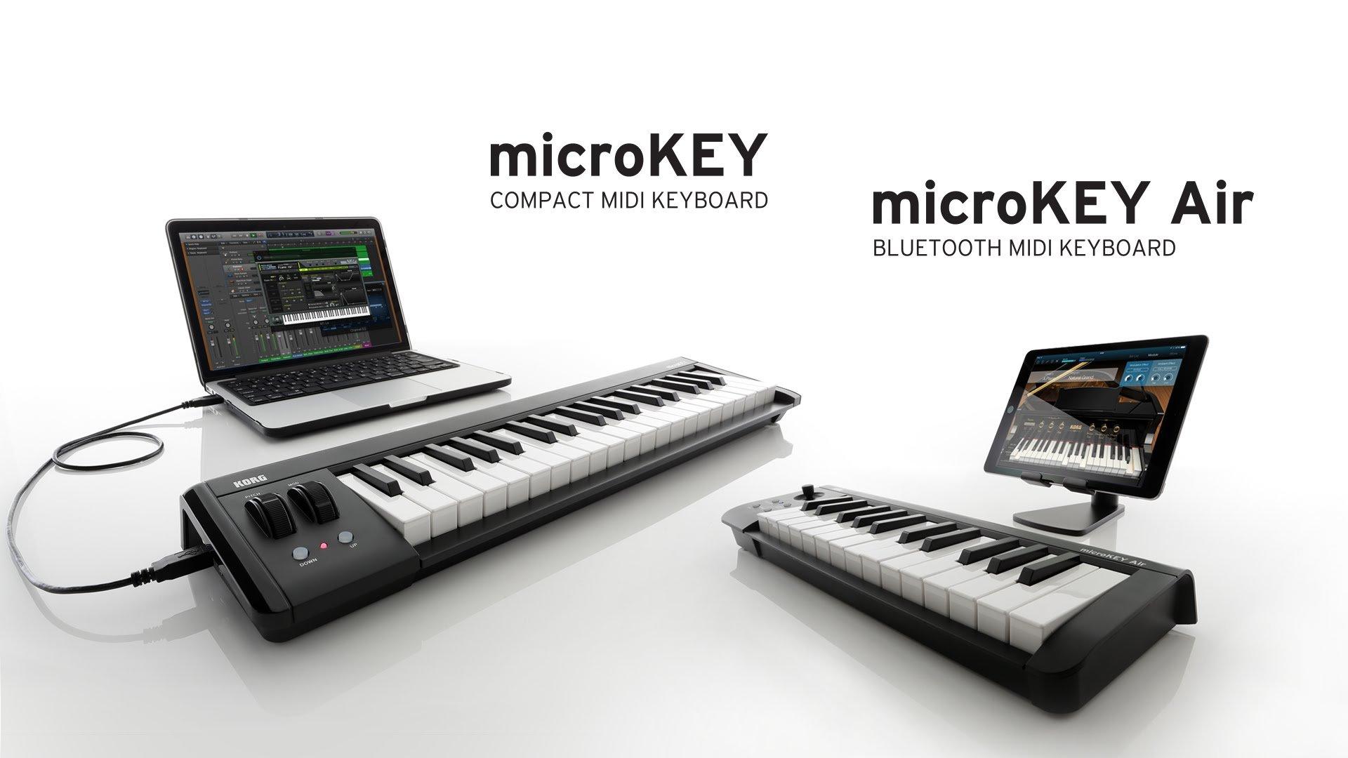KORG microKEY2 49-Key iOS-Powerable USB MIDI Micro Keyboard Controller - Black by Korg (Image #6)
