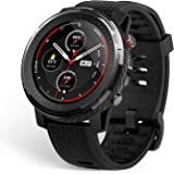 """Amazfit Stratos 3 Sports Smartwatch Powered by FirstBeat, 1.34"""" Full Round Display, 80-Sports Modes, Standalone Music Playbac"""