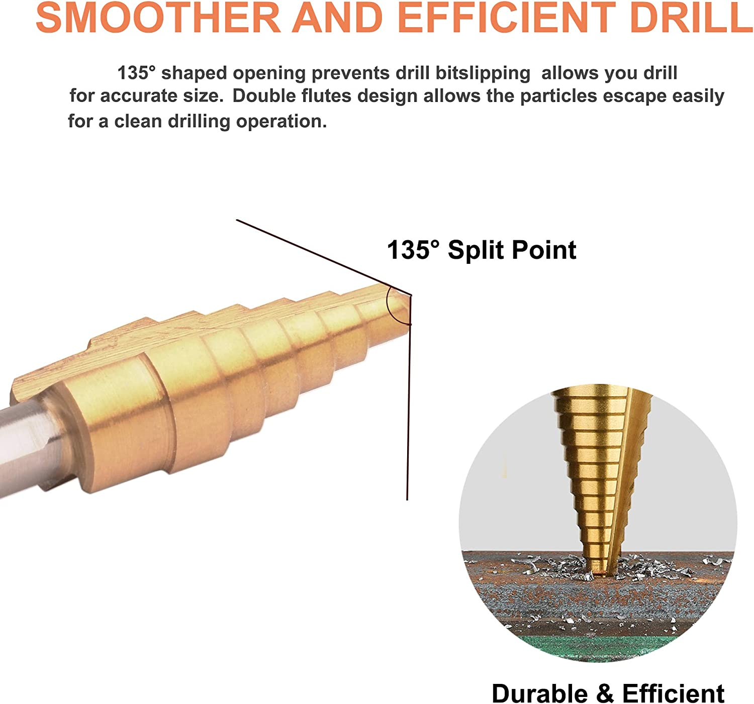 M6 x 1.00 Size DIN Length Plug Style Morse Cutting Tools 61522 Metric Thread Forming High Performance Taps High-Speed Steel Titanium Carbonitride Coated Finish D8 Pitch Diameter Limit